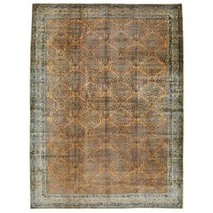 Antique Indian Lahore Room Size Rug