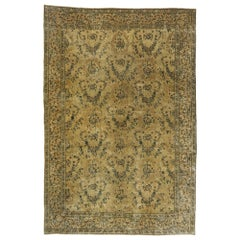 Antique Indian Palace Rug with Romantic Russian Home Dacha Style