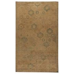 Authentic Indian Botanic Handmade Wool Rug