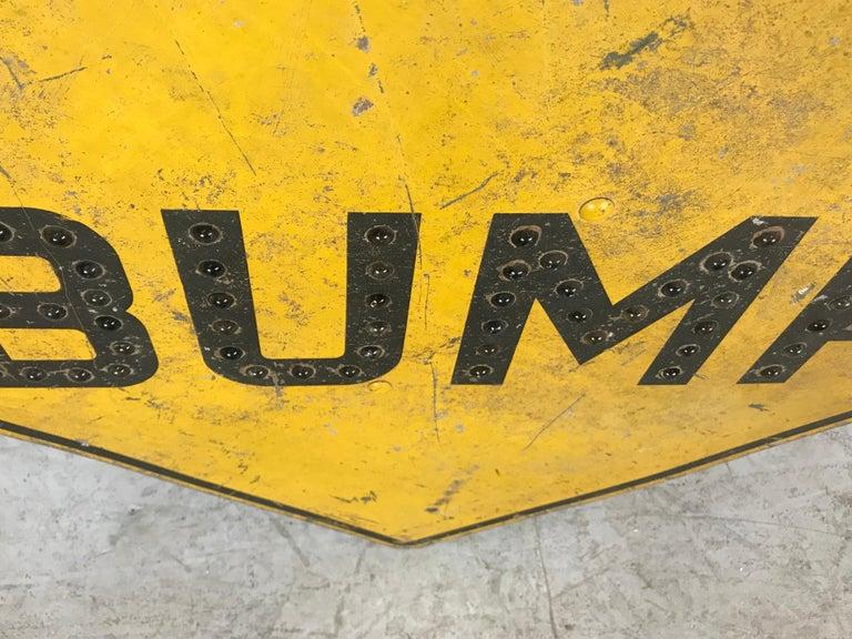 Antique Industrial 'BUMP