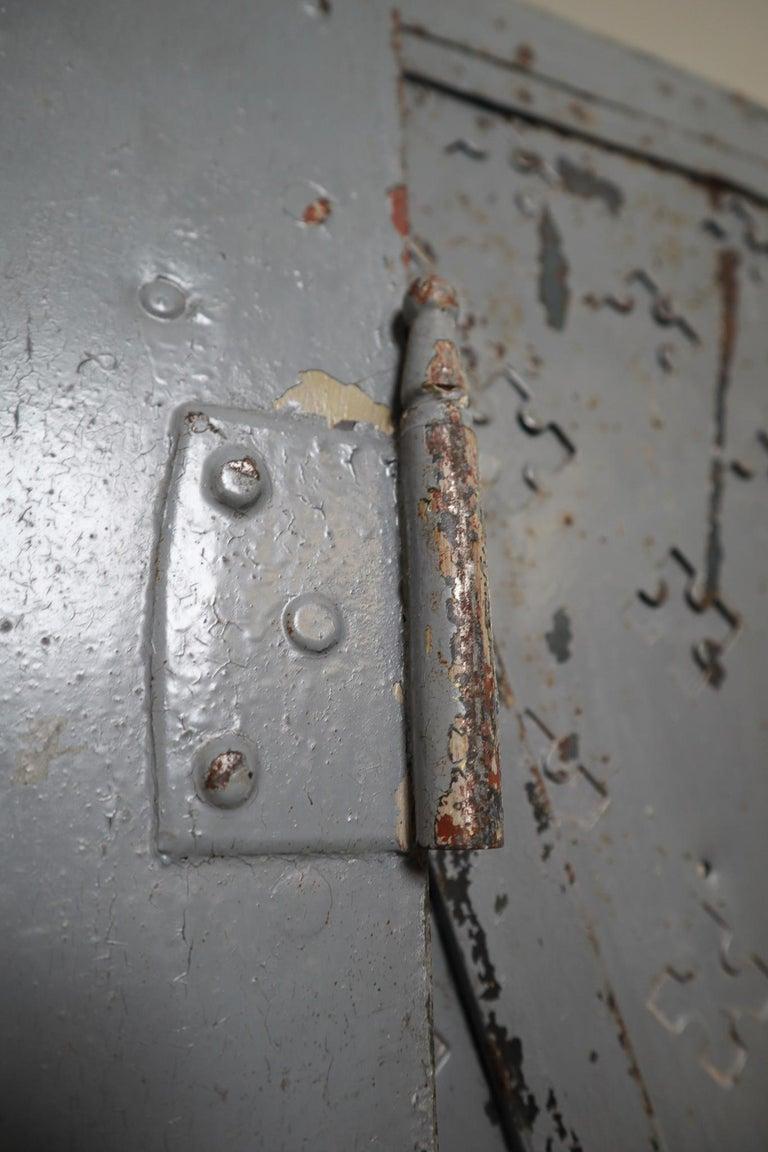Antique Industrial Italian Mid-18th Century Iron Doors For Sale 2