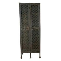 Antique Industrial Locker