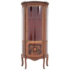 Antique, Inlaid Cabinet from the End of 19th Century