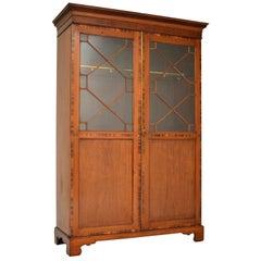 Antique Inlaid Mahogany Wardrobe