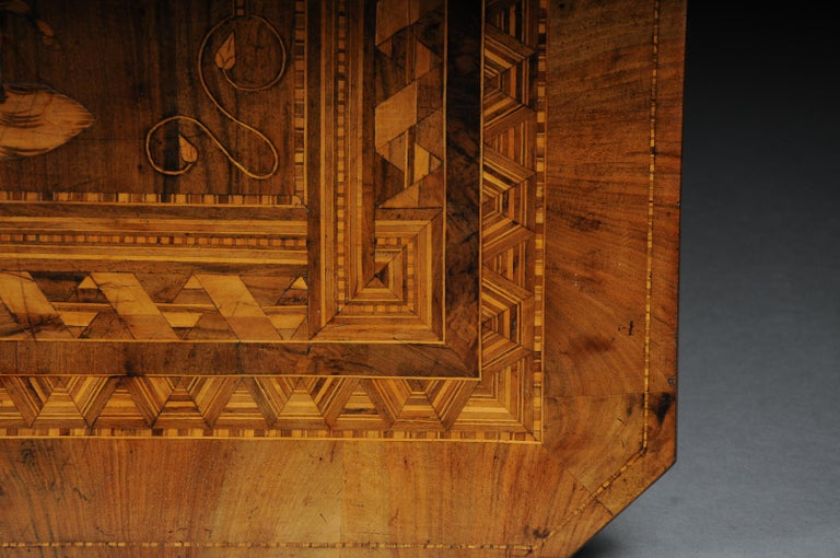 Antique Inlaid Table South German / Italy, circa 1845 For Sale 10
