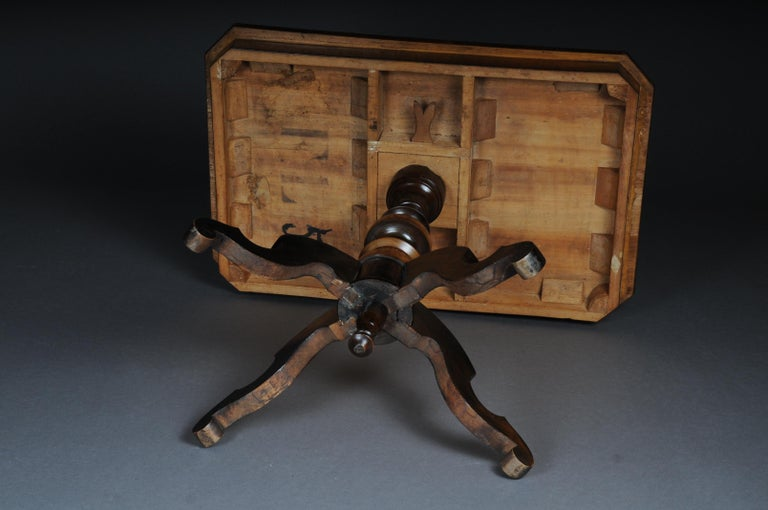 Antique Inlaid Table South German / Italy, circa 1845 For Sale 12