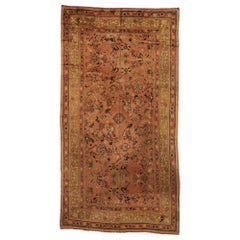 Antique Irish Donegal Palace Rug with Modern Rustic Mediterranean Style