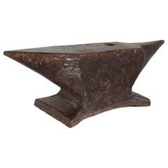 Antique Iron Anvil