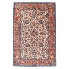 Antique Isfahan Persian Rug