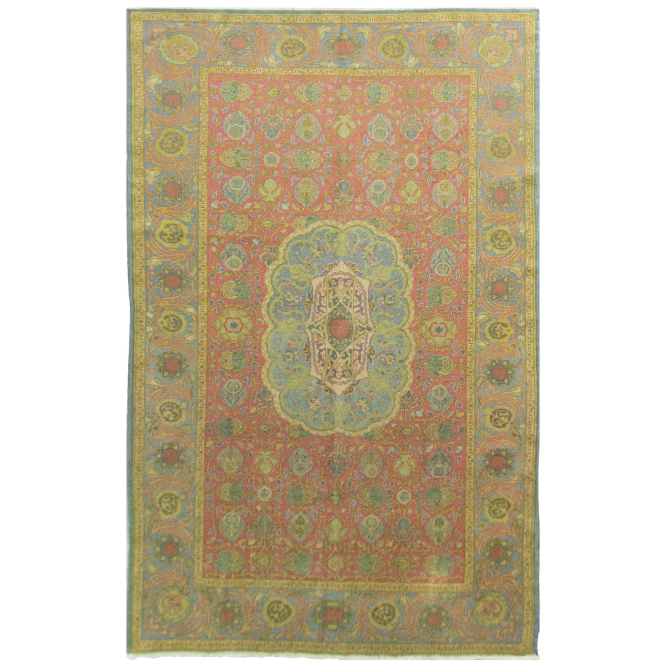 Antique Israeli Bezalel Carpet
