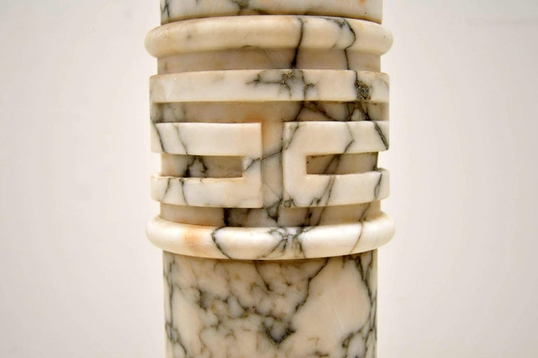Antique Italian Alabaster Column For Sale 3