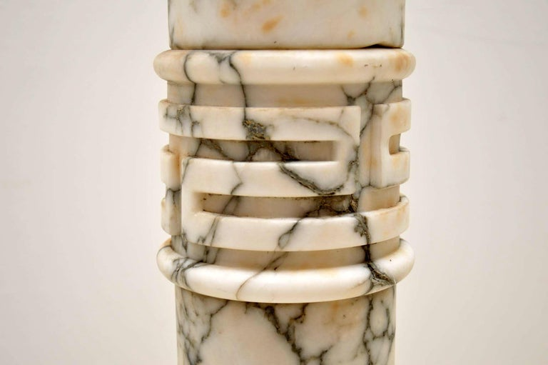 Antique Italian Alabaster Column For Sale 4