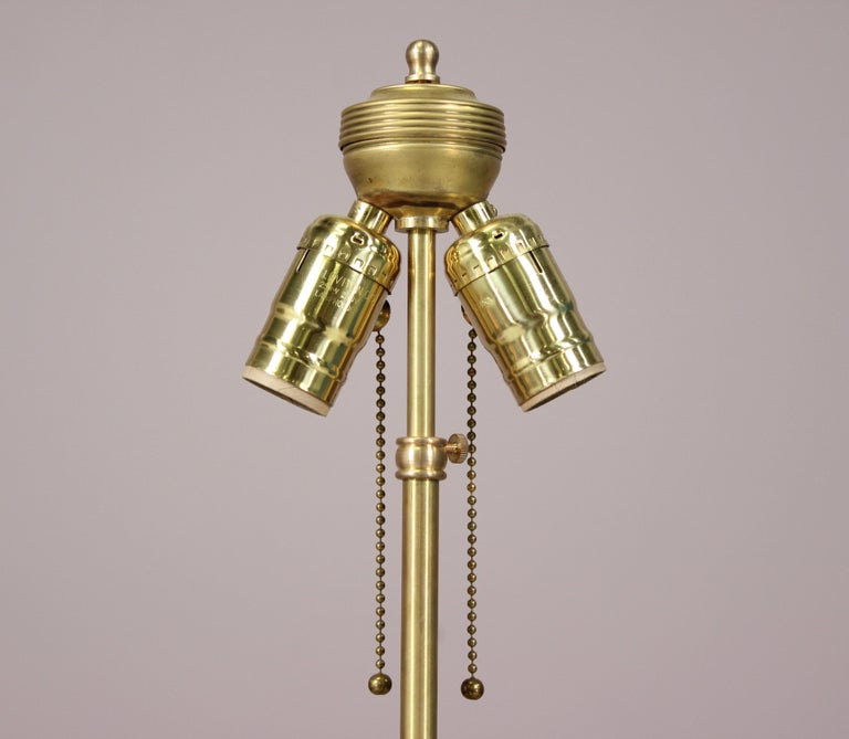 Antique Italian Altarstick Lamp In Good Condition For Sale In Los Angeles, CA