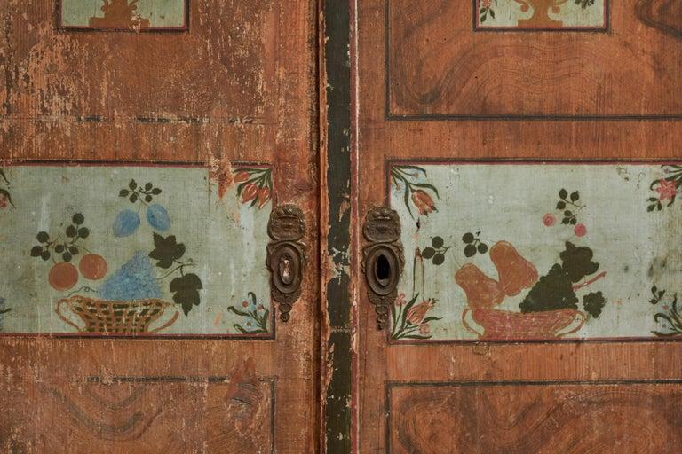 18th Century Antique Italian Armoire For Sale