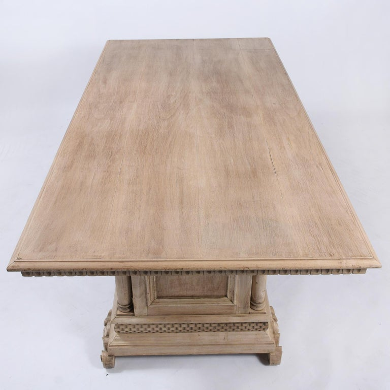 Antique Italian Baroque Dining Table For Sale 6