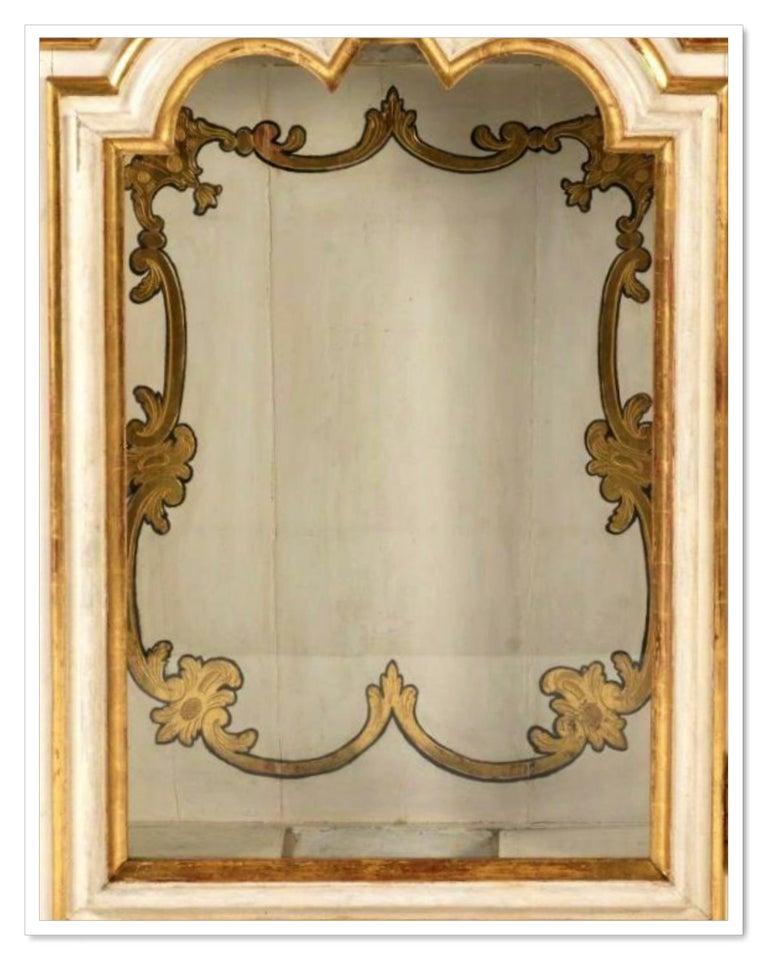 Rococo Antique Italian Cabinet, 18th Century For Sale