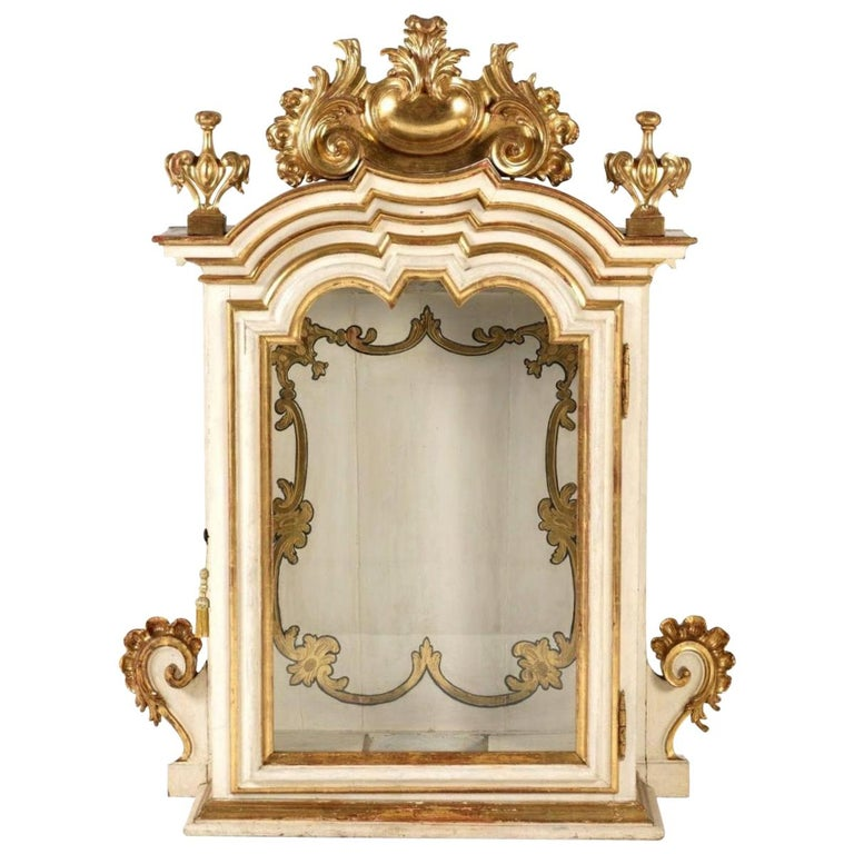 Antique Italian Cabinet, 18th Century For Sale