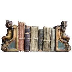 Antique Italian Cherub Bookends