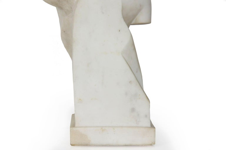 "Antique Italian Classical Marble Sculpture ""Psyche of Capua"", Naples, circa 1866 For Sale 10"