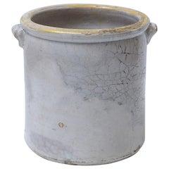 Antique Italian Confit Pots