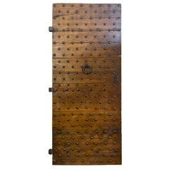 Antique Italian Door, circa 17th Century