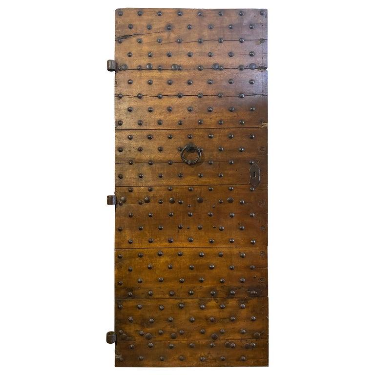 Antique Italian Door, circa 17th Century For Sale