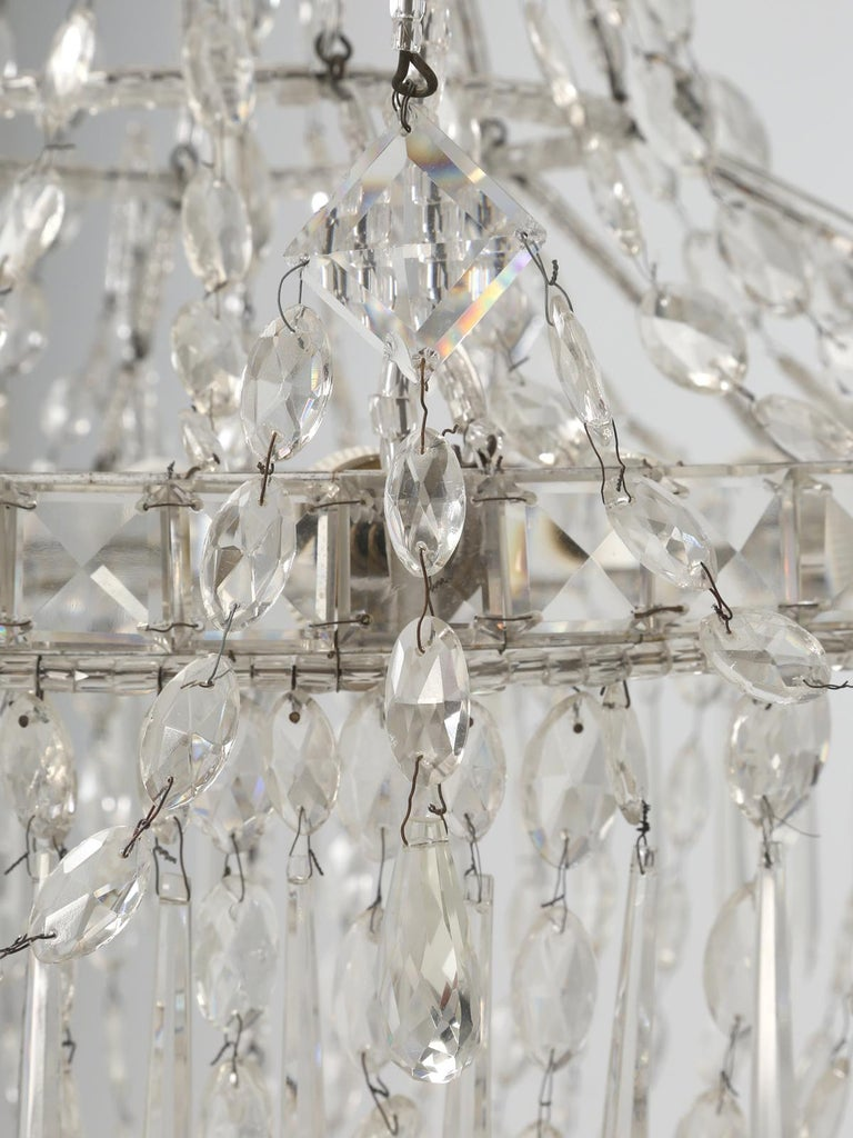 Antique Italian Empire Style Chandelier from Milan, with Letter of Authenticity  For Sale 6
