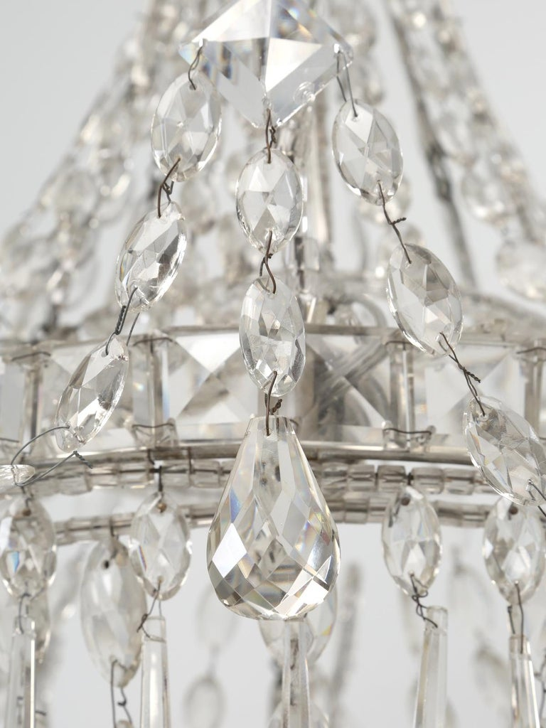Antique Italian Empire Style Chandelier from Milan, with Letter of Authenticity  For Sale 8