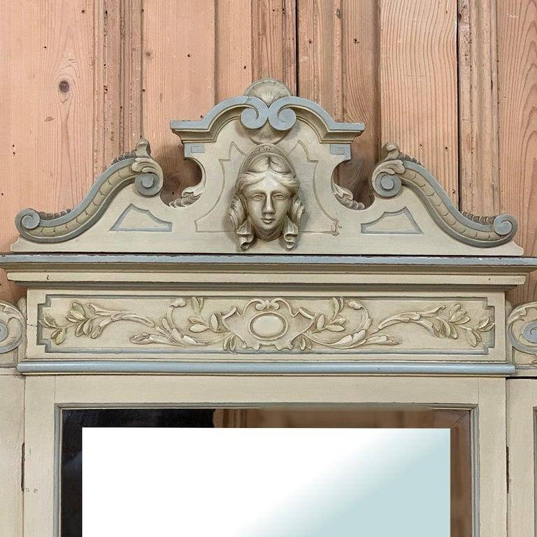 Antique Italian Louis XVI Painted Vanity For Sale 7