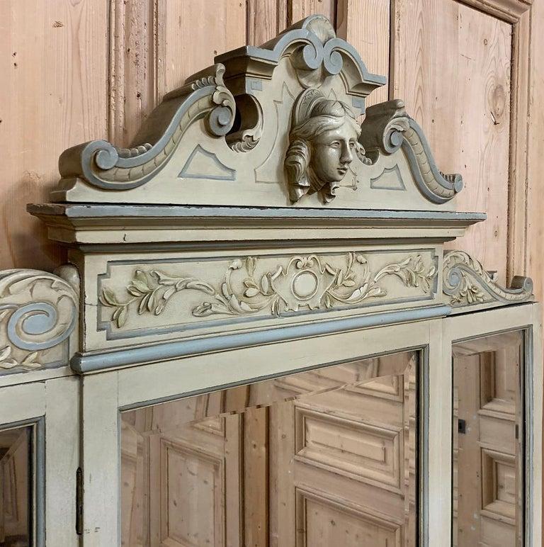 Antique Italian Louis XVI Painted Vanity For Sale 2