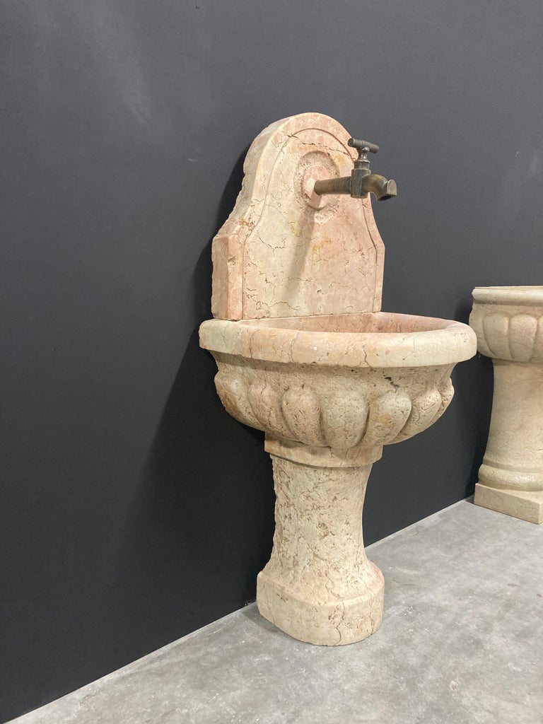 Antique Italian Marble Fountain For Sale 5