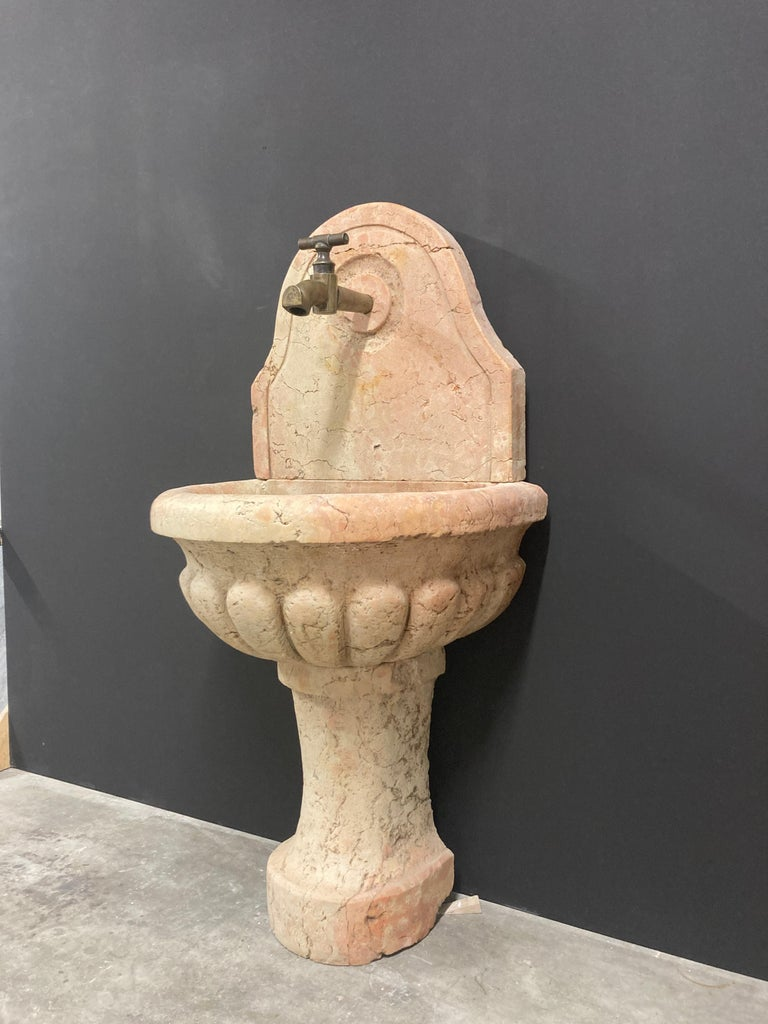 Antique Italian Marble Fountain For Sale 7