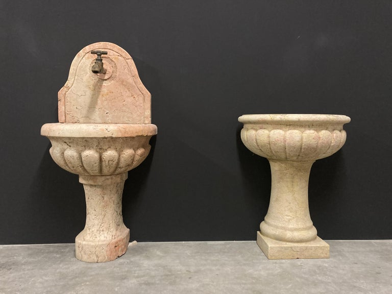 Antique Italian Marble Fountain For Sale 9