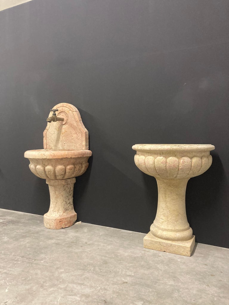 Antique Italian Marble Fountain For Sale 10