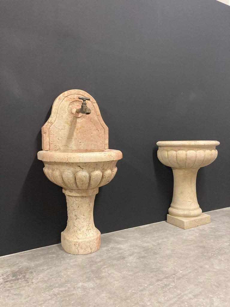 Antique Italian Marble Fountain For Sale 11