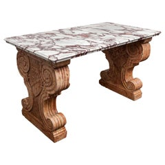 Antique Italian Marble Table