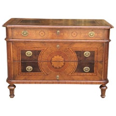 Antique Italian Marquetry Commode