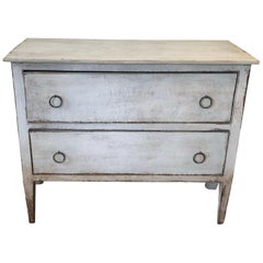 Antique Italian Painted Chest