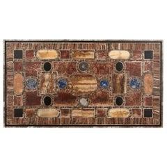 Antique Italian Specimen Marble Table Top