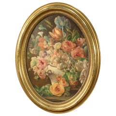 Antique Italian Still Life Painting from the 19th Century