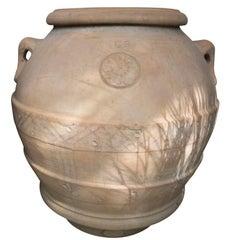 Antique Italian Terracotta Urn from Tuscany
