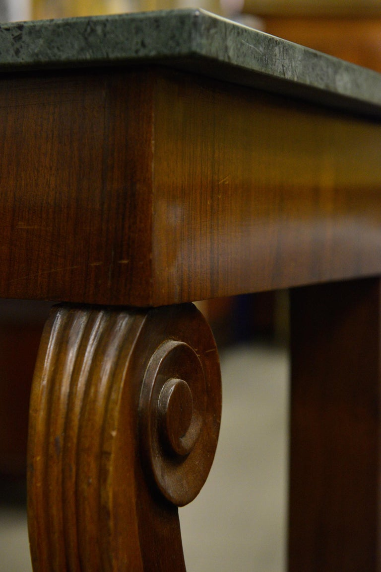 Antique Italian Tuscan Empire Console -FINAL  Clearance SALE For Sale 1