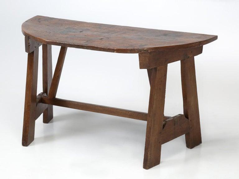 Brilliant Antique Italian Walnut Console Table Circa 1700S Ibusinesslaw Wood Chair Design Ideas Ibusinesslaworg