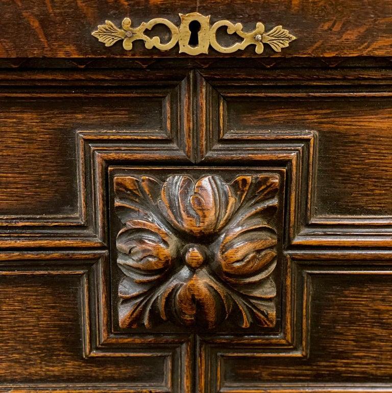 Antique Jacobean Secretary For Sale 3
