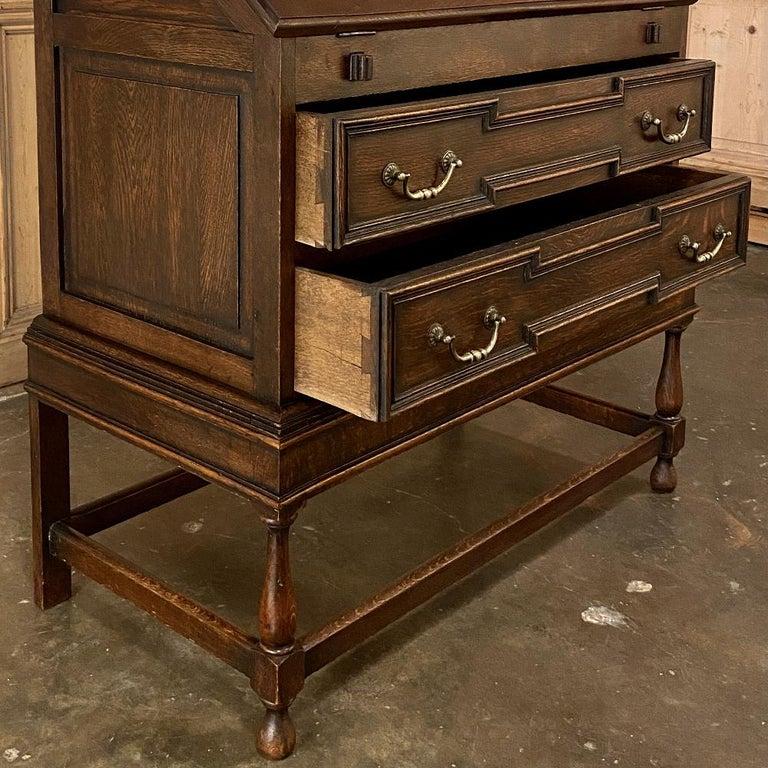Antique Jacobean Secretary For Sale 4