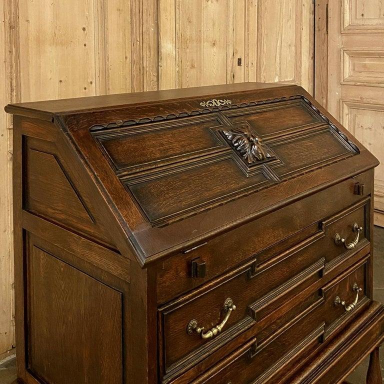 20th Century Antique Jacobean Secretary For Sale