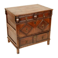 Antique Jacobean Style Chest of Drawers