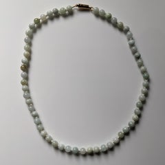 Antique Jade Necklace —reserved for client