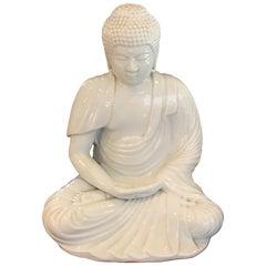 Antique Japanese Blanc de Chine Buddha