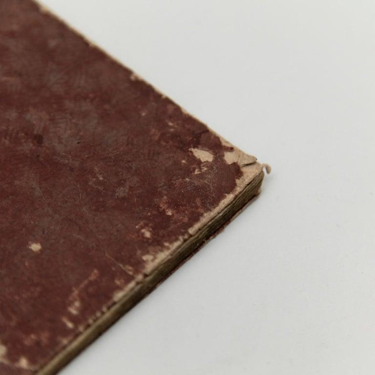 Antique Japanese Buddhism Book Edo Period, circa 1867 For Sale 8